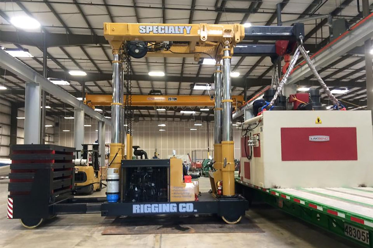 Need to Move or Install an Overhead Crane? We're the Experts